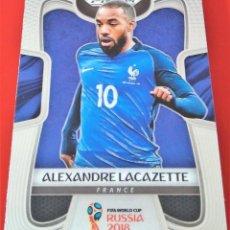 Trading Cards: CARD PANINI PRIZM 2018 ALEXANDRE LACAZETTE FRANCIA. Lote 221724166