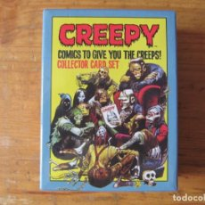 Trading Cards: CREEPY COLLECTOR CARD SET - DARKHORSE DELUXE ¡¡¡¡¡¡¡ IMPECABLE Y RARA !!!!!!!!. Lote 236512820