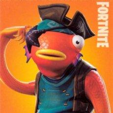 Trading Cards: FORTNITE SERIES 1 PANINI CARD Nº 187 FISHSTICK. Lote 212729802