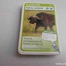 Trading Cards: 28 CROMOS SUPERANIMALS CONDIS. Lote 215012253