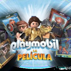 Trading Cards: COLECCIÓN COMPLETA 32 TRADING CARDS PLAYMOBIL CARREFOUR LENTICULARES. Lote 215141487