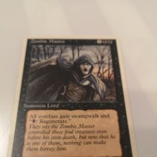 Trading Cards: TRST1. 030. C3. MAGIC CARD. THE GATHERING. ZOMBIE MASTER. 1995. Lote 215391318