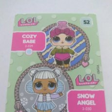 Trading Cards: LOL SURPRISE OFFICIAL TRADING CARDS PANINI Nº 52. Lote 217420605