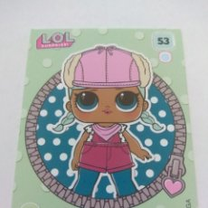Trading Cards: LOL SURPRISE OFFICIAL TRADING CARDS PANINI Nº 53. Lote 217420618