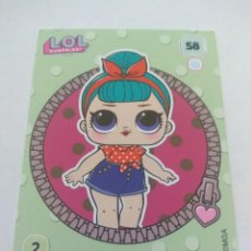 Trading Cards: LOL SURPRISE OFFICIAL TRADING CARDS PANINI Nº 58. Lote 217421790