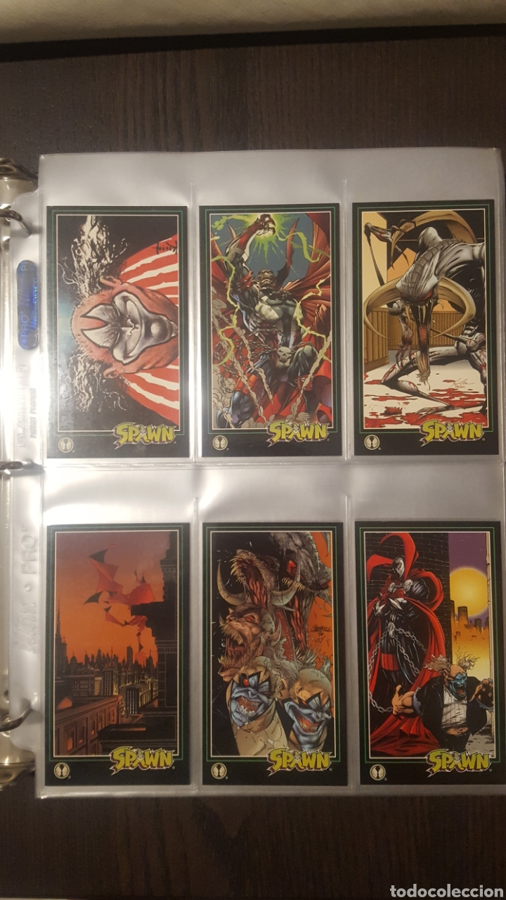 Trading Cards: Trading cards - SPAWN WIDEVISION 1995 WILDSTORM - Comic Images - Todd McFarlane - Foto 2 - 217482613
