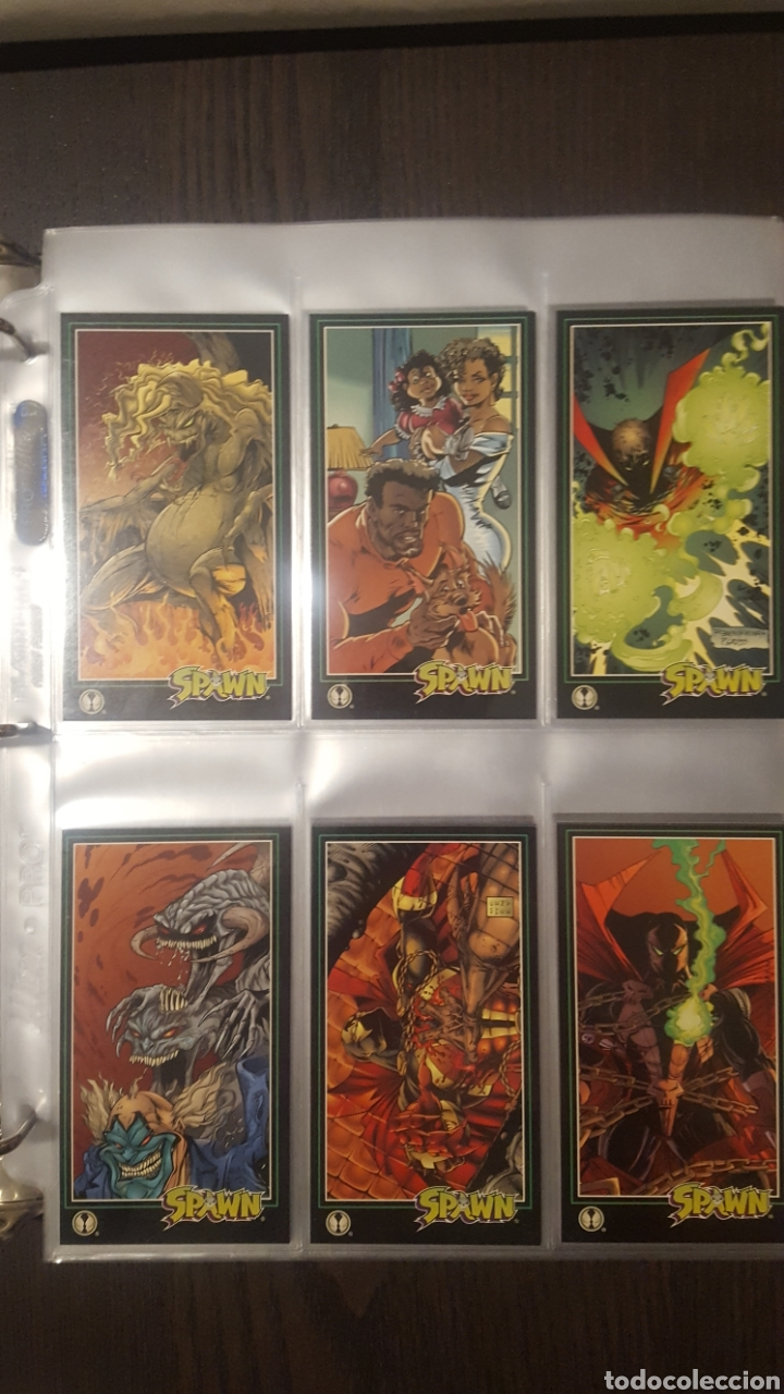 Trading Cards: Trading cards - SPAWN WIDEVISION 1995 WILDSTORM - Comic Images - Todd McFarlane - Foto 3 - 217482613