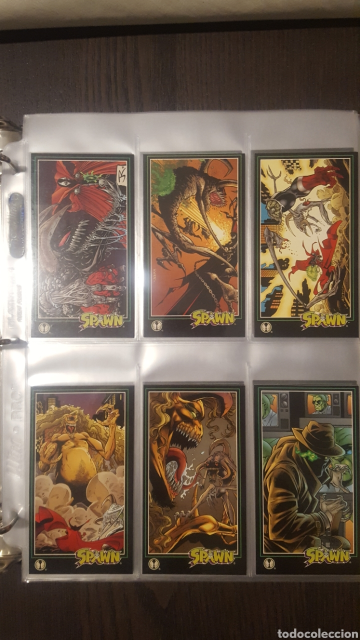 Trading Cards: Trading cards - SPAWN WIDEVISION 1995 WILDSTORM - Comic Images - Todd McFarlane - Foto 4 - 217482613