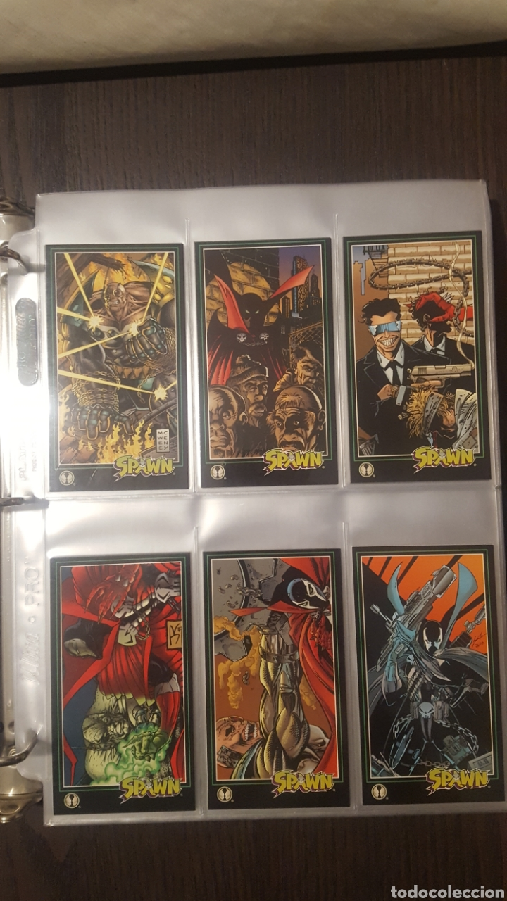 Trading Cards: Trading cards - SPAWN WIDEVISION 1995 WILDSTORM - Comic Images - Todd McFarlane - Foto 6 - 217482613
