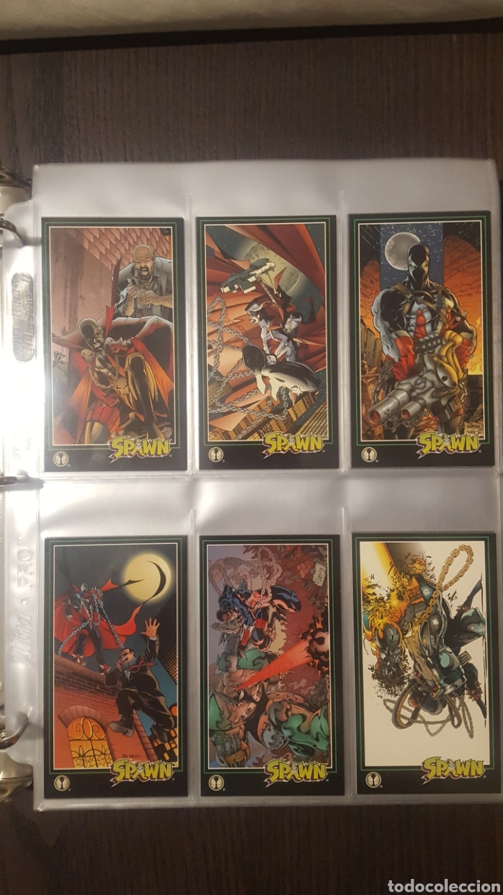 Trading Cards: Trading cards - SPAWN WIDEVISION 1995 WILDSTORM - Comic Images - Todd McFarlane - Foto 7 - 217482613