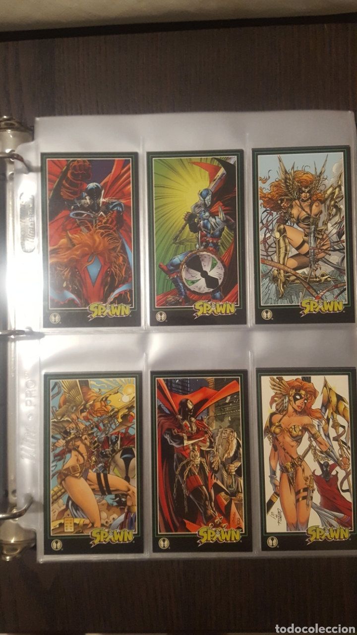 Trading Cards: Trading cards - SPAWN WIDEVISION 1995 WILDSTORM - Comic Images - Todd McFarlane - Foto 9 - 217482613