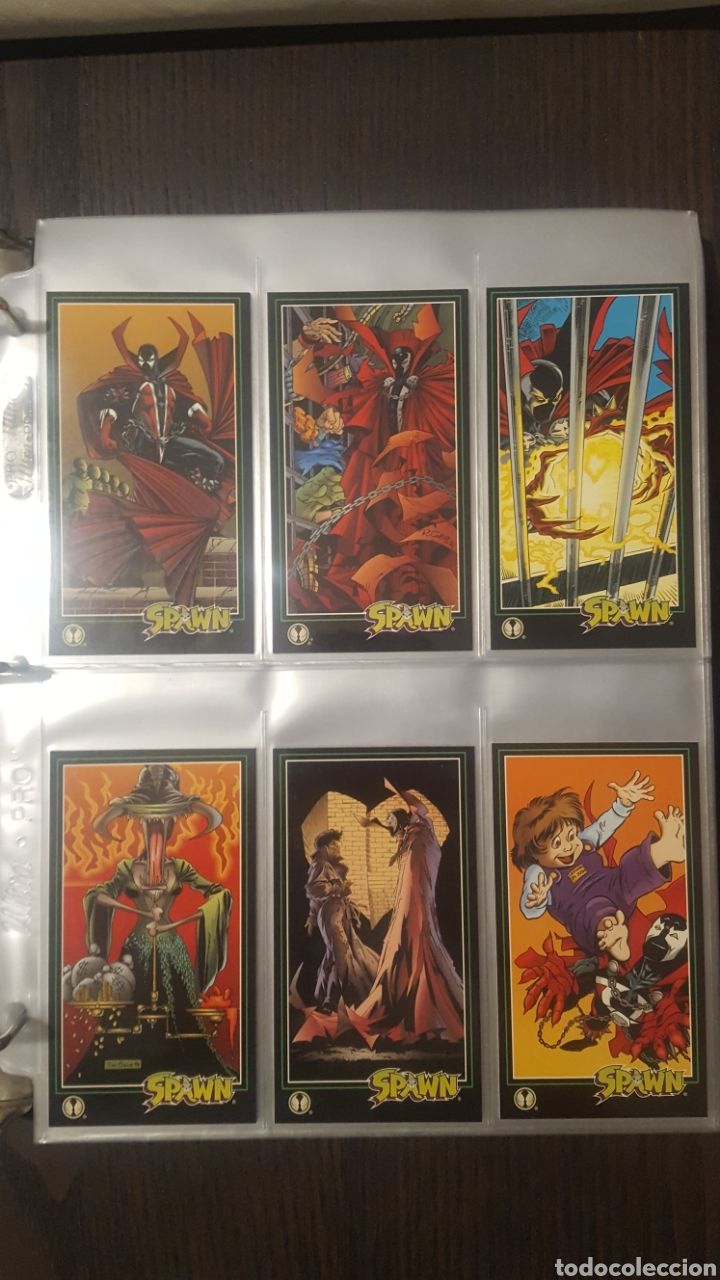 Trading Cards: Trading cards - SPAWN WIDEVISION 1995 WILDSTORM - Comic Images - Todd McFarlane - Foto 10 - 217482613