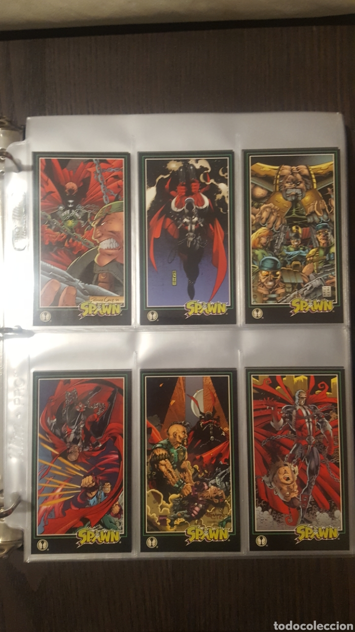 Trading Cards: Trading cards - SPAWN WIDEVISION 1995 WILDSTORM - Comic Images - Todd McFarlane - Foto 11 - 217482613