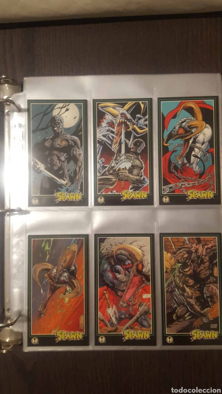 Trading Cards: Trading cards - SPAWN WIDEVISION 1995 WILDSTORM - Comic Images - Todd McFarlane - Foto 15 - 217482613