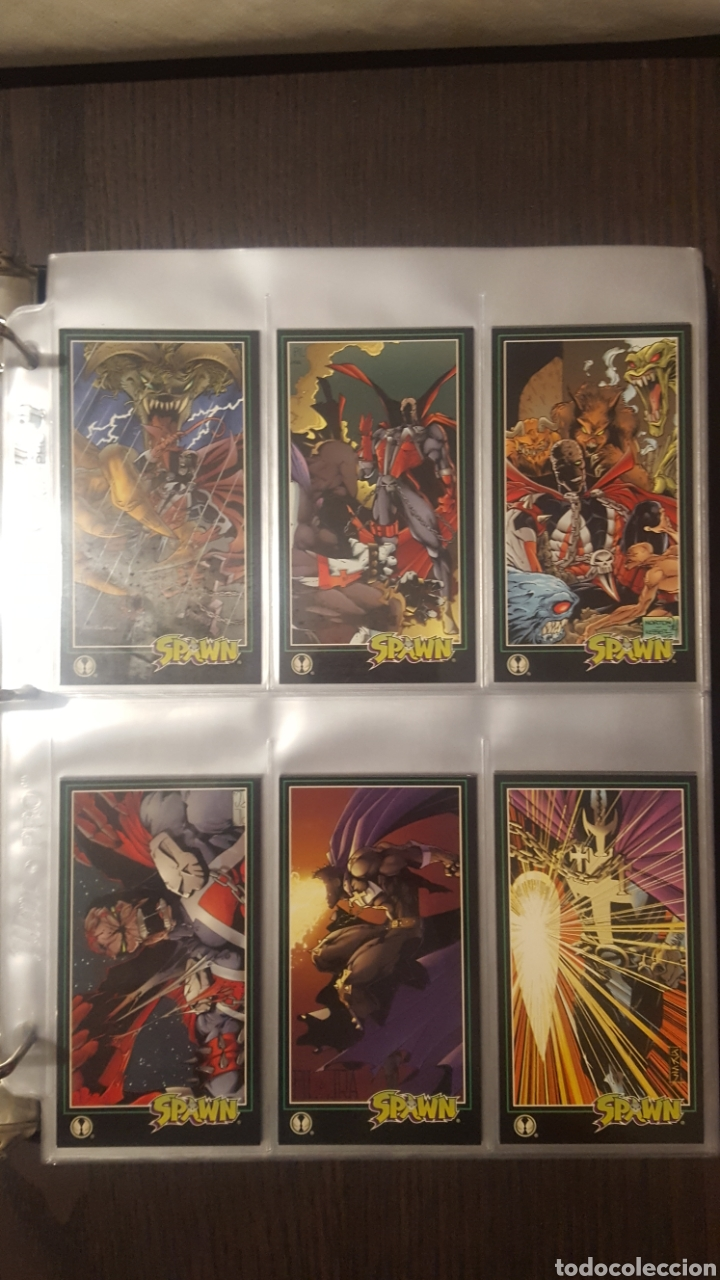 Trading Cards: Trading cards - SPAWN WIDEVISION 1995 WILDSTORM - Comic Images - Todd McFarlane - Foto 17 - 217482613