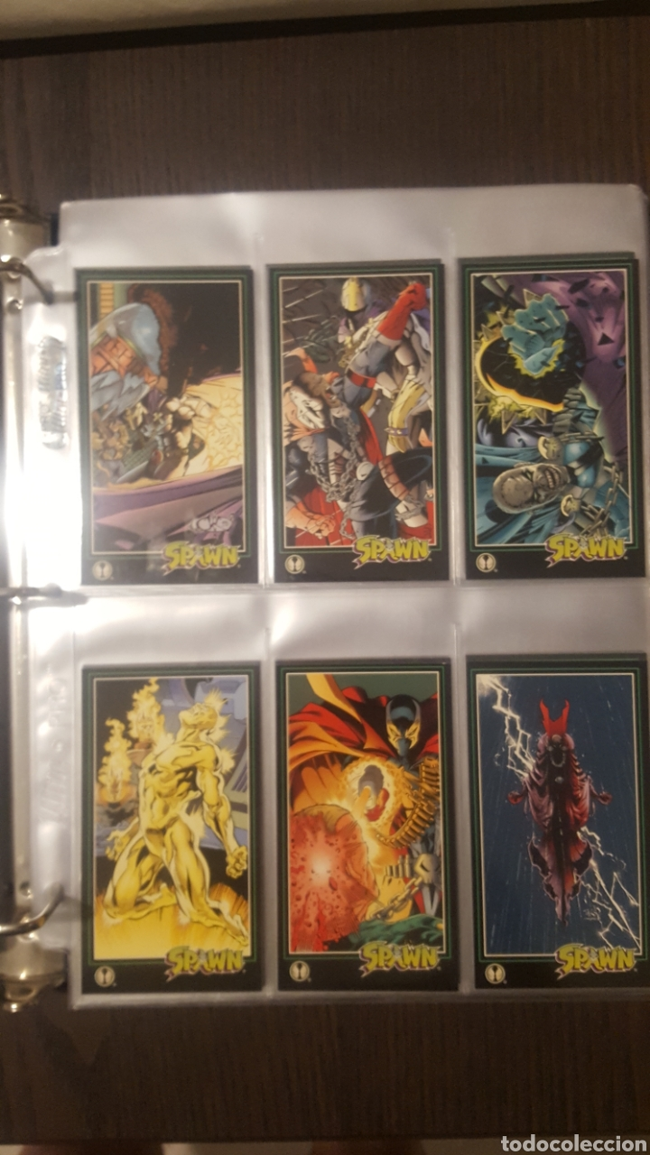 Trading Cards: Trading cards - SPAWN WIDEVISION 1995 WILDSTORM - Comic Images - Todd McFarlane - Foto 18 - 217482613