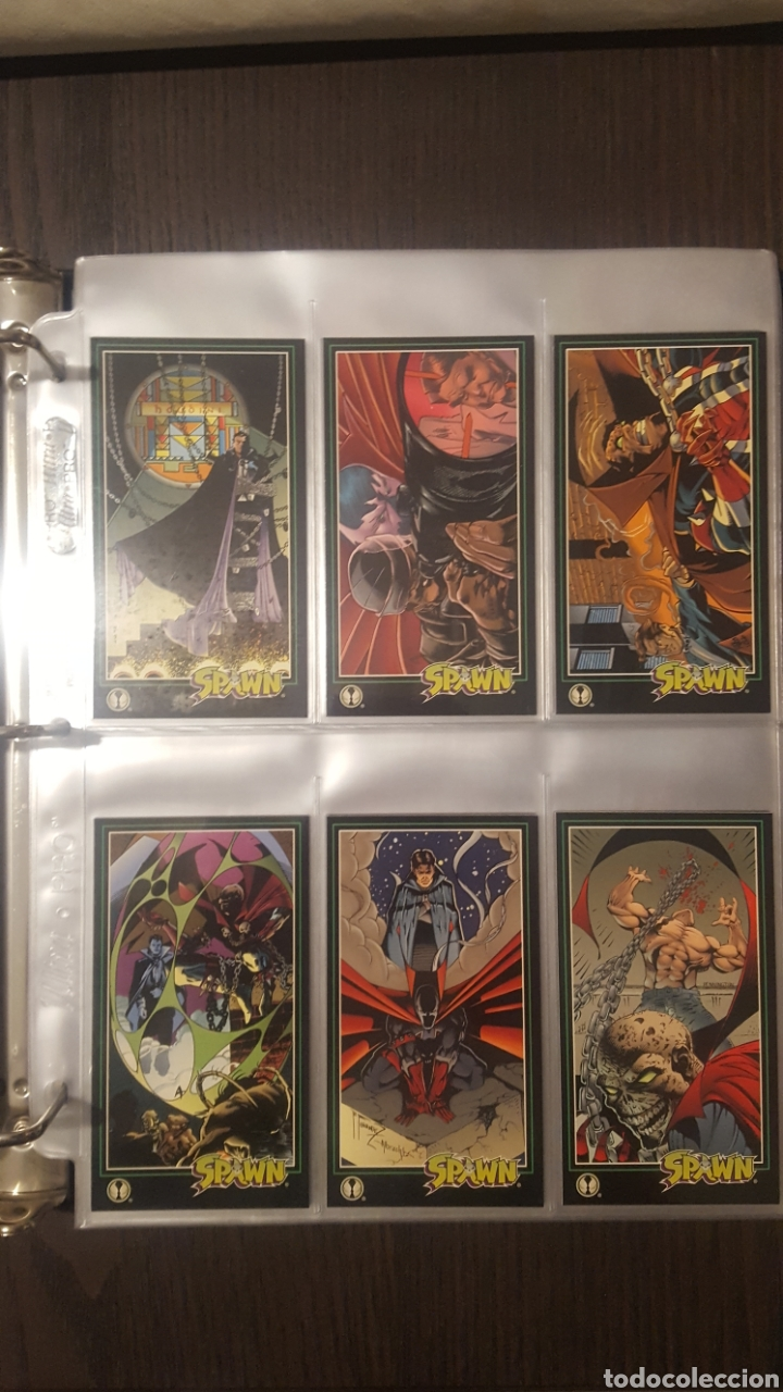 Trading Cards: Trading cards - SPAWN WIDEVISION 1995 WILDSTORM - Comic Images - Todd McFarlane - Foto 19 - 217482613