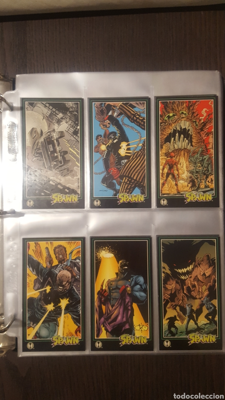 Trading Cards: Trading cards - SPAWN WIDEVISION 1995 WILDSTORM - Comic Images - Todd McFarlane - Foto 20 - 217482613
