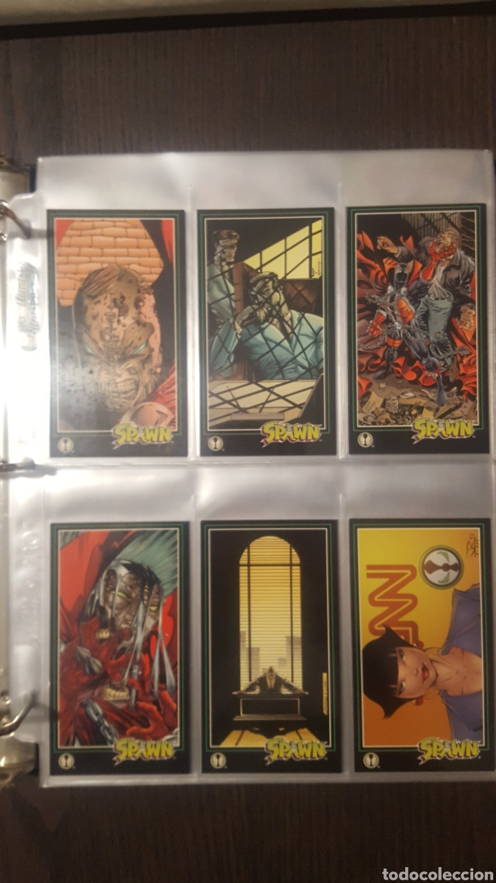 Trading Cards: Trading cards - SPAWN WIDEVISION 1995 WILDSTORM - Comic Images - Todd McFarlane - Foto 21 - 217482613