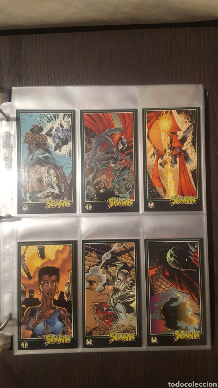 Trading Cards: Trading cards - SPAWN WIDEVISION 1995 WILDSTORM - Comic Images - Todd McFarlane - Foto 23 - 217482613