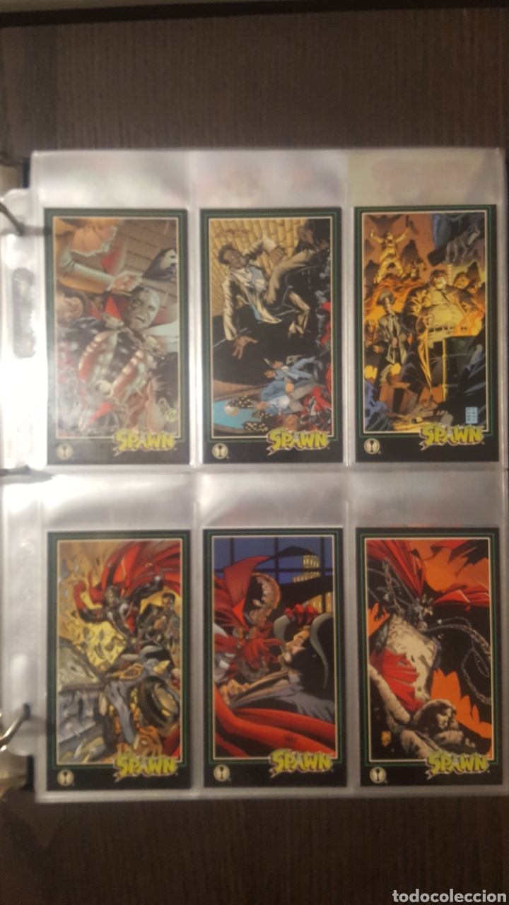 Trading Cards: Trading cards - SPAWN WIDEVISION 1995 WILDSTORM - Comic Images - Todd McFarlane - Foto 24 - 217482613