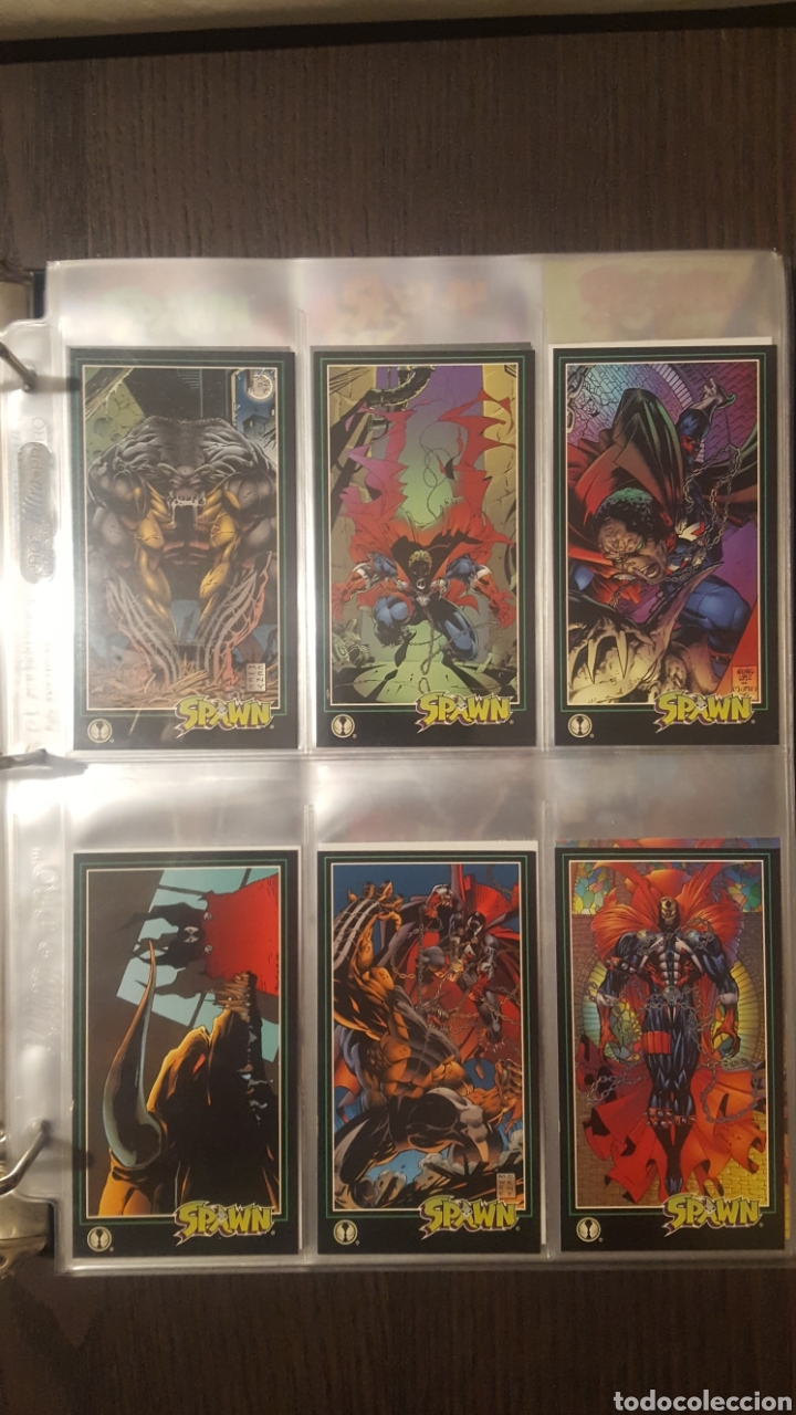 Trading Cards: Trading cards - SPAWN WIDEVISION 1995 WILDSTORM - Comic Images - Todd McFarlane - Foto 25 - 217482613