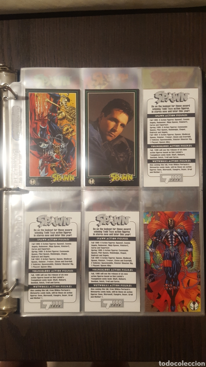Trading Cards: Trading cards - SPAWN WIDEVISION 1995 WILDSTORM - Comic Images - Todd McFarlane - Foto 26 - 217482613
