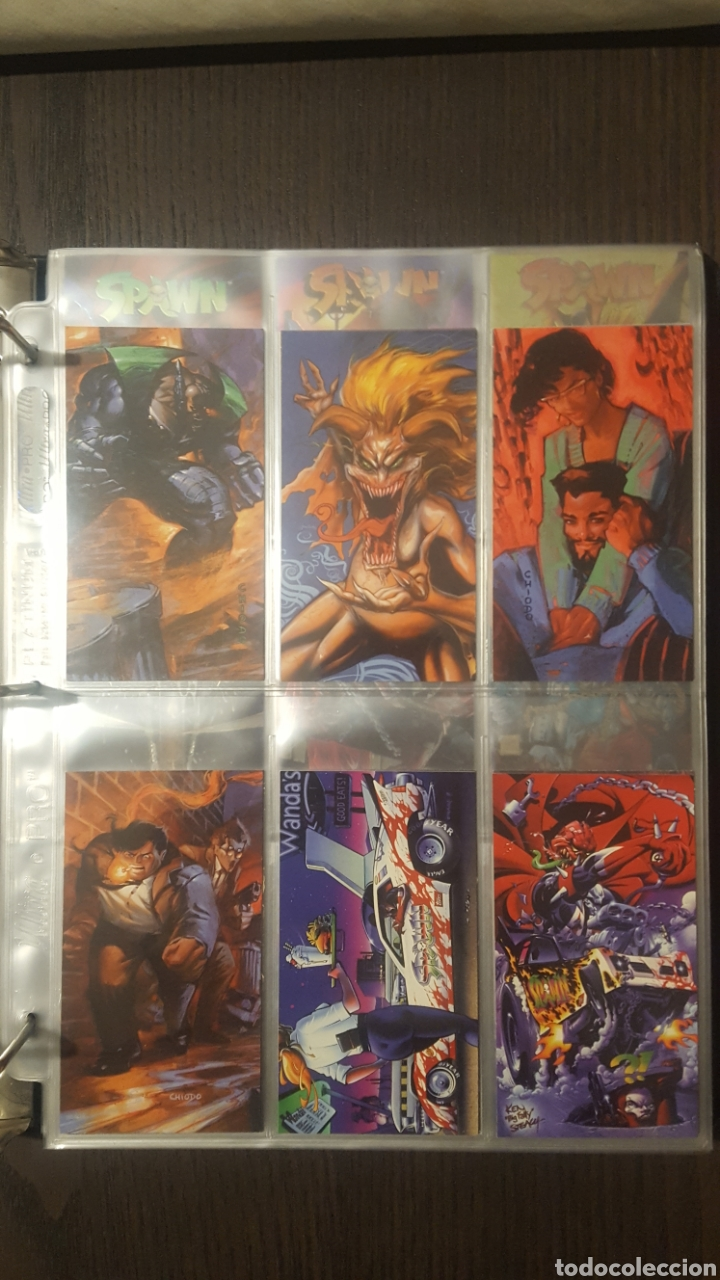 Trading Cards: Trading cards - SPAWN WIDEVISION 1995 WILDSTORM - Comic Images - Todd McFarlane - Foto 29 - 217482613