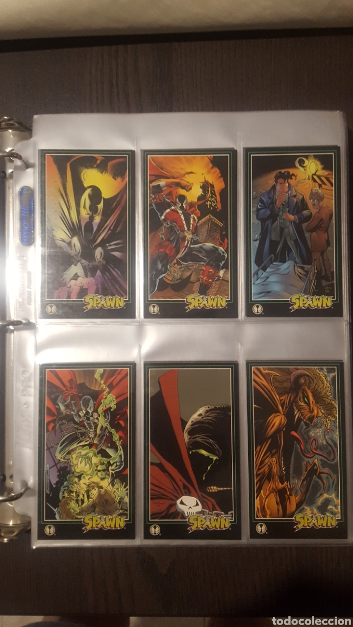 TRADING CARDS - SPAWN WIDEVISION 1995 WILDSTORM - COMIC IMAGES - TODD MCFARLANE (Coleccionismo - Cromos y Álbumes - Trading Cards)