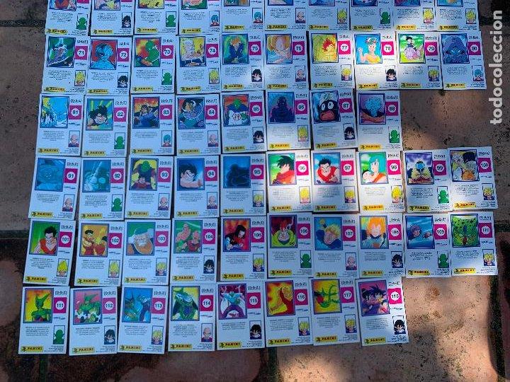 Trading Cards: Excepcional lote de DRAGON BALL Z COMBAT-CARDS, casi completa a falta de 3 cromos. - Foto 6 - 217610092