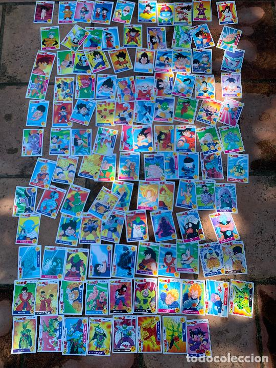 Trading Cards: Excepcional lote de DRAGON BALL Z COMBAT-CARDS, casi completa a falta de 3 cromos. - Foto 7 - 217610092