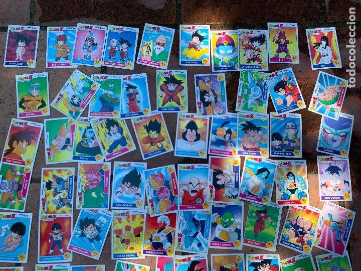 Trading Cards: Excepcional lote de DRAGON BALL Z COMBAT-CARDS, casi completa a falta de 3 cromos. - Foto 8 - 217610092