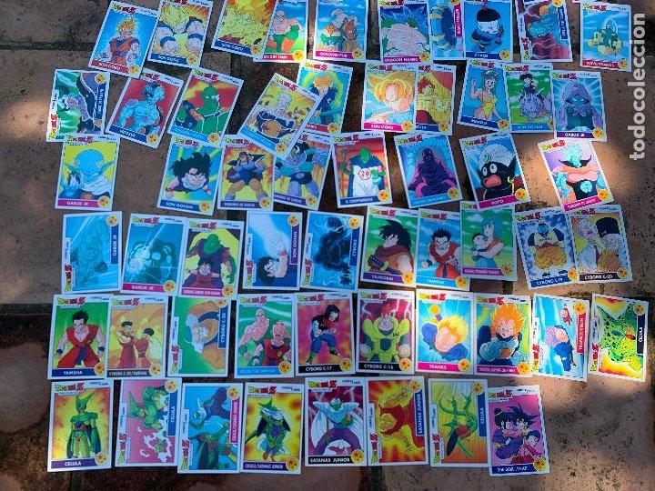 Trading Cards: Excepcional lote de DRAGON BALL Z COMBAT-CARDS, casi completa a falta de 3 cromos. - Foto 9 - 217610092