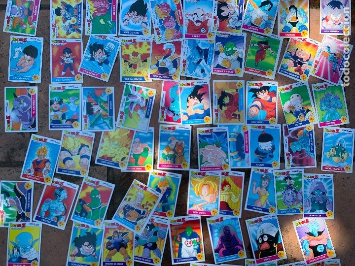 Trading Cards: Excepcional lote de DRAGON BALL Z COMBAT-CARDS, casi completa a falta de 3 cromos. - Foto 10 - 217610092