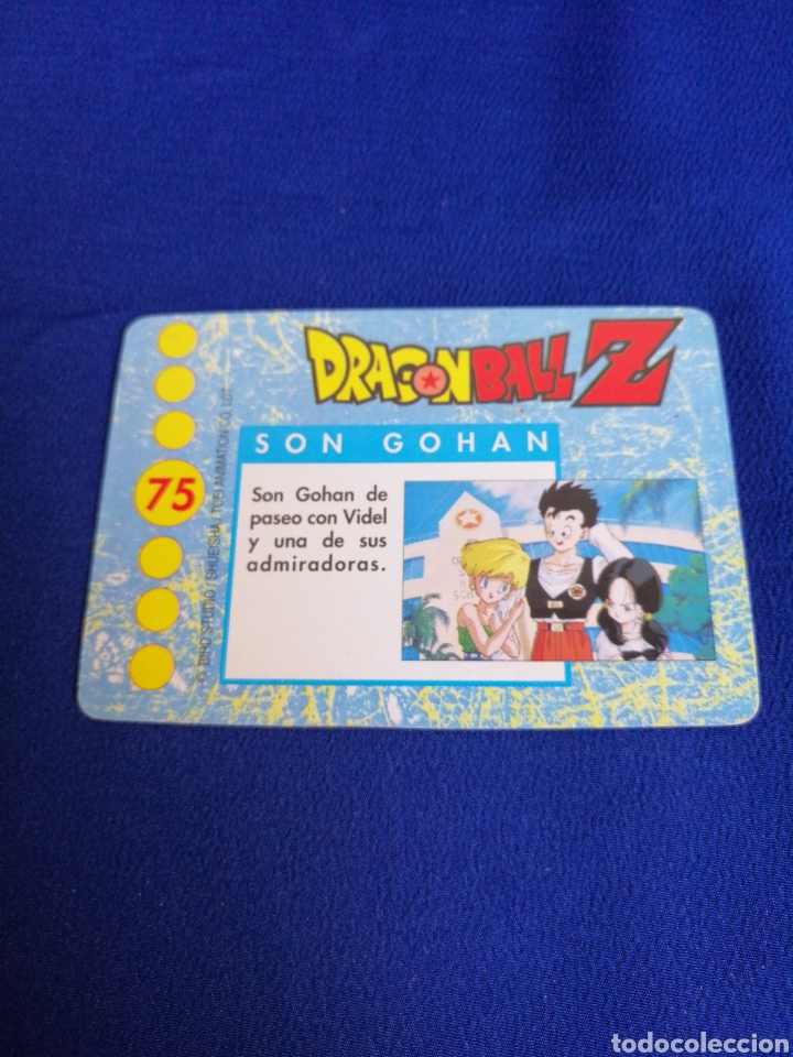 Trading Cards: CROMO DRAGON BALL Z número 75 - Foto 1 - 217923610