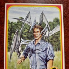 Trading Cards: JURASSIC PARK Nº11 COLECCION KENNER 1993. Lote 218333496