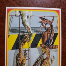 Trading Cards: JURASSIC PARK Nº 12 COLECCION KENNER 1993. Lote 218334353