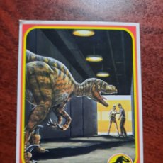 Trading Cards: JURASSIC PARK Nº 8 COLECCION KENNER 1993. Lote 218334481