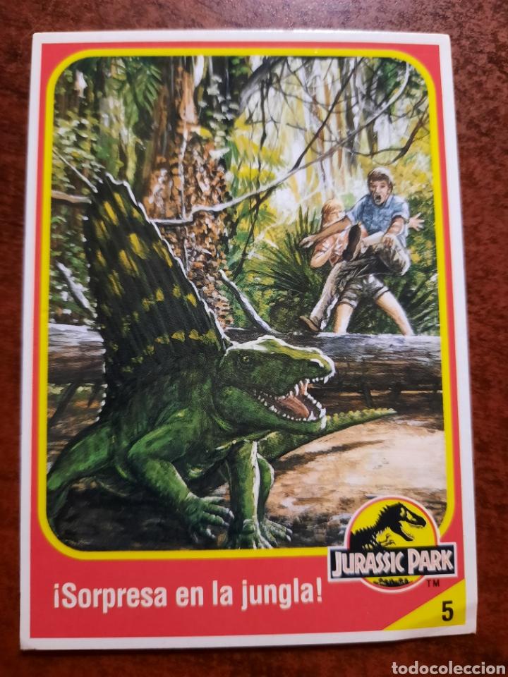 JURASSIC PARK Nº 5 COLECCION KENNER 1993 (Coleccionismo - Cromos y Álbumes - Trading Cards)