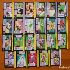 Trading Cards: LOTE 23 DRAGON BALL CARDDASS - HONDAN - JAPONESAS - SIN REPETIDAS (R2). Lote 218525181