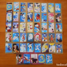 Trading Cards: LOTE 45 CARDS SERIE 3 ORO DRAGON BALL Z - SIN REPETIDOS - EDICION EN FRANCES (W2). Lote 218529421