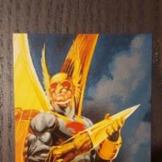 Trading Cards: 1994 SKYBOX MASTER SERIES HAWKMAN - F4 FOIL ETCHED INSERT CARD CARTA ESPECIAL. Lote 218536531