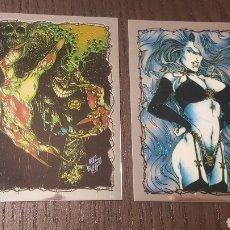 Trading Cards: TRADING CARDS EVIL ERNIE - CHASE CARDS - CHROMIUM - CARTAS ESPECIALES DE LA COLECCIÓN NÚMEROS 1 Y 2. Lote 218537105