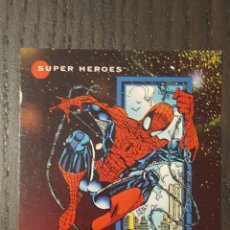 Trading Cards: TRADING CARD SUPERHÉROES MARVEL UNIVERSE SPIDER-MAN 1 PROTOTYPE. Lote 218543737