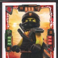 Trading Cards: TRADING CARD / CROMO LEGO NINJAGO CAZADORES DE DRAGONES SERIE 2 NÚMERO 8. Lote 267166869