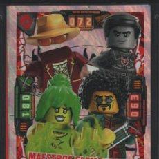 Trading Cards: TRADING CARD / CROMO LEGO NINJAGO CAZADORES DE DRAGONES SERIE 2 NÚMERO 72. Lote 267166889
