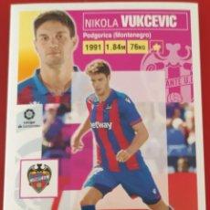 Trading Cards: CROMO LIGA ESTE PANINI 2020 2021 20-21 NIKOLA VUKCEVIC LEVANTE. Lote 218905678