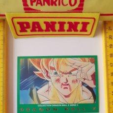 Trading Cards: CROMO CARTA DRAGON BALL Z SERIE 5 VERDE 59 VEGETTO. Lote 219243150