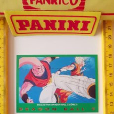 Trading Cards: CROMO CARTA DRAGON BALL Z SERIE 5 VERDE 58 SUPER BOO VEGETTO. Lote 219243156