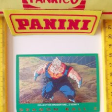 Trading Cards: CROMO CARTA DRAGON BALL Z SERIE 5 VERDE 57 SUPER BOO VEGETTO. Lote 219243158